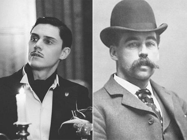 gentleman, black and white, fashion accessory, headgear, moustache,