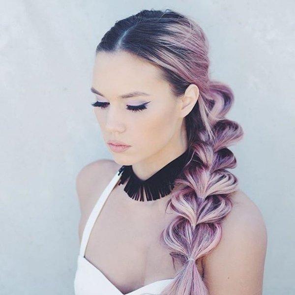 clothing, hair, hairstyle, lilac, black hair,