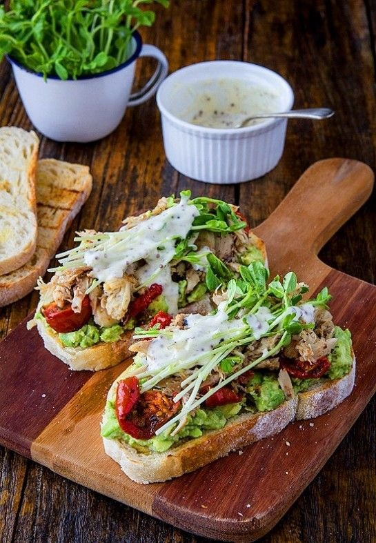 Tartines with Tomato and Avocado - Tartine Recipes for All You…