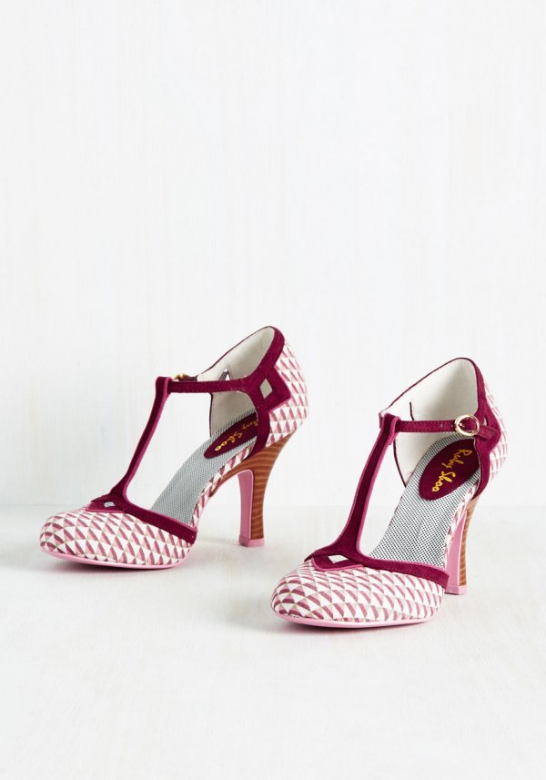 Musical Maven Heel in Pink