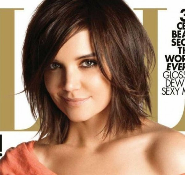 Katie Holmes S Short Cut 38 Hairstyles For Thin Hair To Add