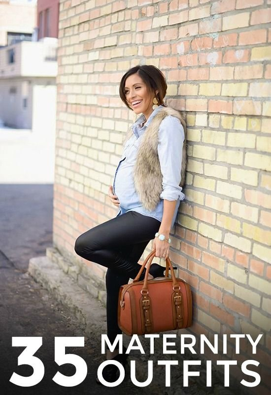 Fur, Chambray, and Coated Leggings