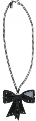 Sophie Hulme Perspex Brass Armoured Wool Necklace - Punk Sass Must-Have Piece of Perspex Jewelry