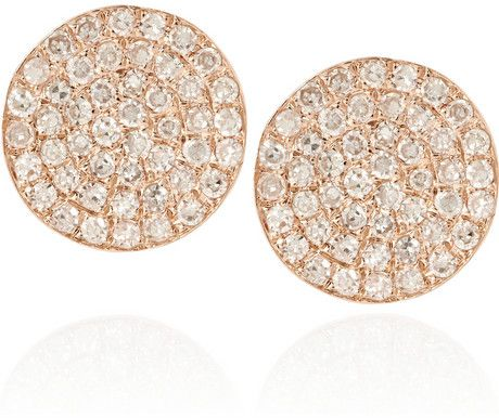 Anita Ko Gold Diamond Earrings