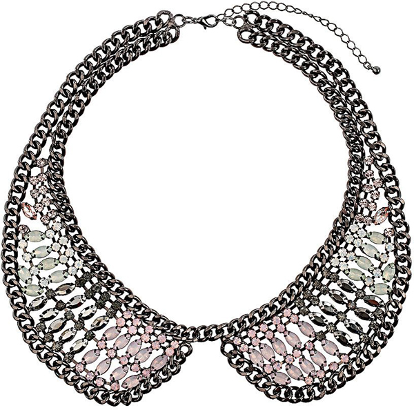 Peter Pan Collar Statement Necklace
