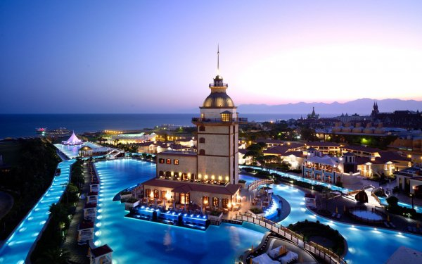 Mardan Palace Hotel in Antalya, Turkey