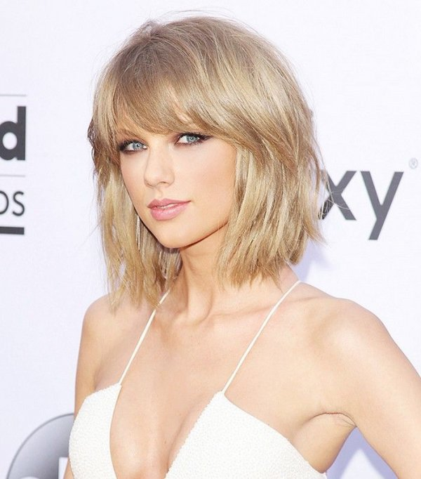 Taylor S Choppy Bob Bangs Join The Fringe Festival With