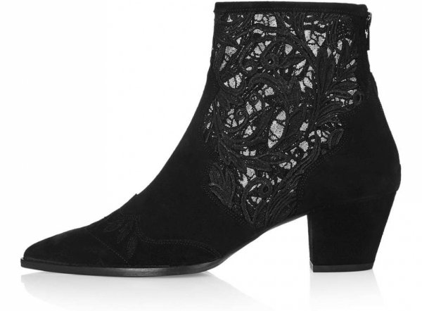 black, footwear, leather, boot, fashion accessory,