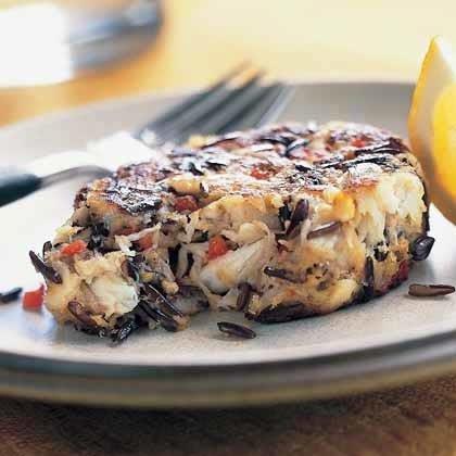 Wild Rice Crab Cakes