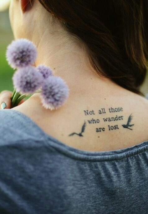 Lost Loved Ones Quote Tattoos : Le Seigneur de la serie danneaux nest pas la serie plus ...