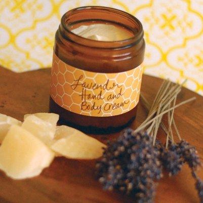 Lavender Beeswax Hand Cream