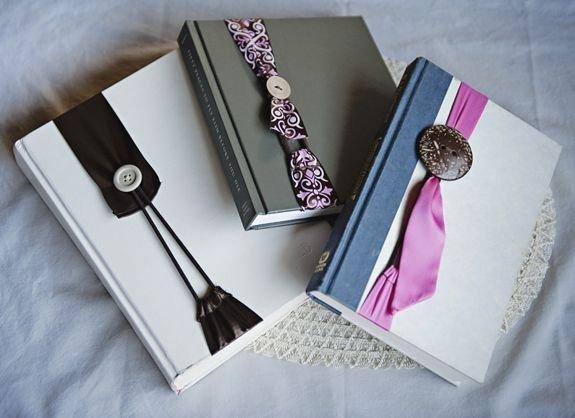 Ribbon & Button Bookmarks