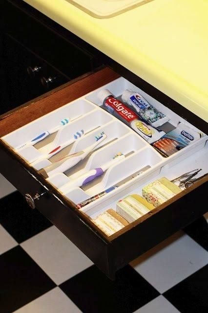 Use a Silverware Organizer