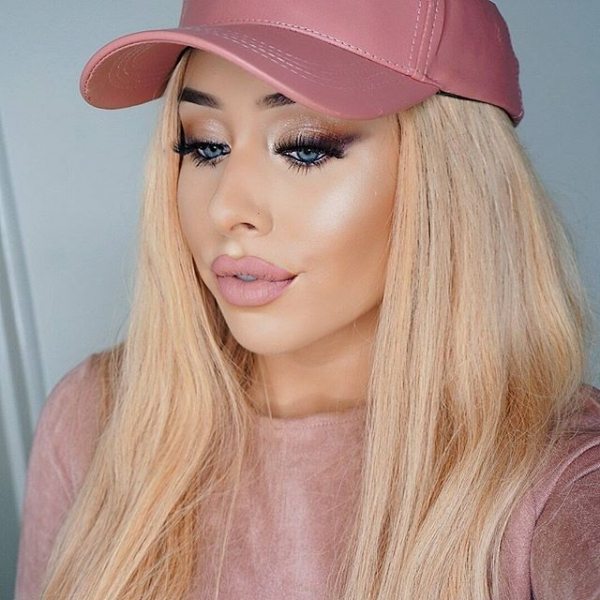 hair, pink, face, clothing, blond,