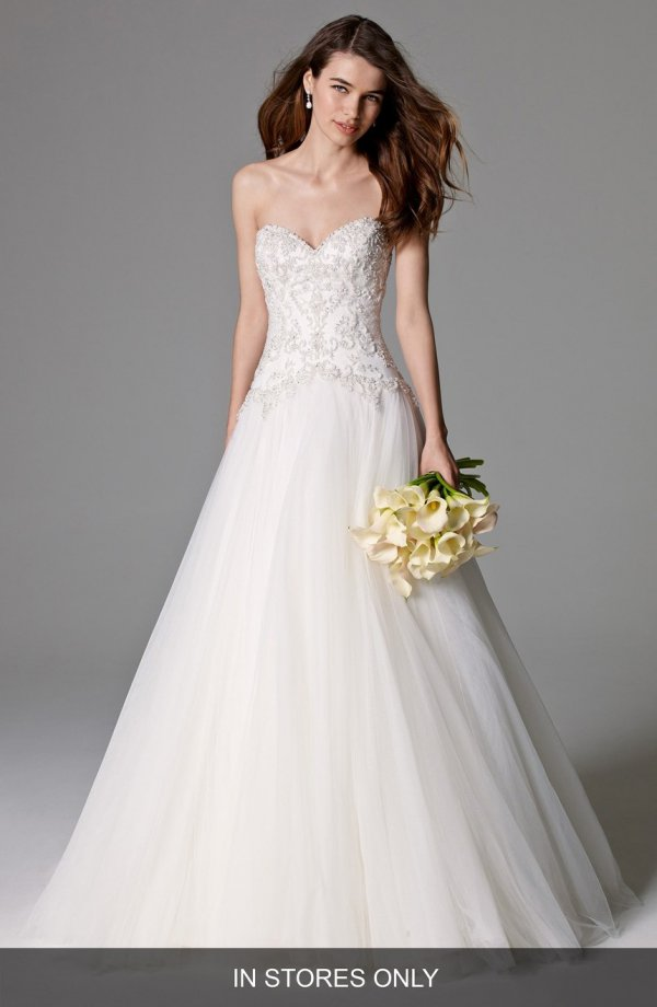 wedding dress, dress, clothing, bridal clothing, gown,