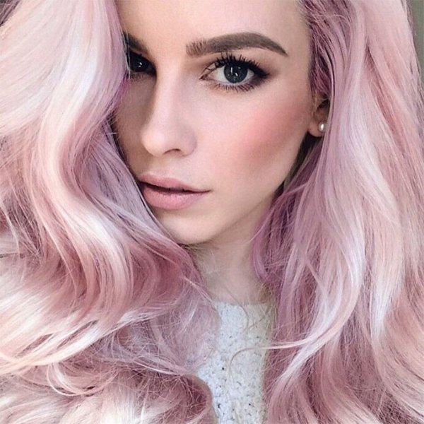 hair,human hair color,color,blond,pink,