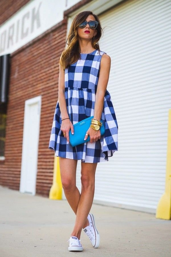 Get Flirty: Gingham Dress