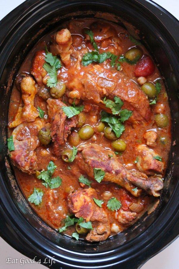 Harissa Slow Cooker Moroccan Chicken - 3️⃣0️⃣Harissa Recipes ...
