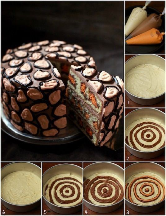 Via 30 Surprise Inside Cake Ideas With