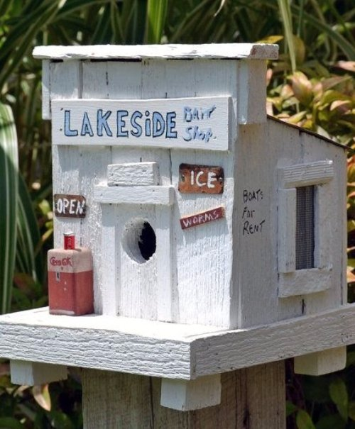 Bait Shop Birdhouse Diy Birdhouses That Ll Attract