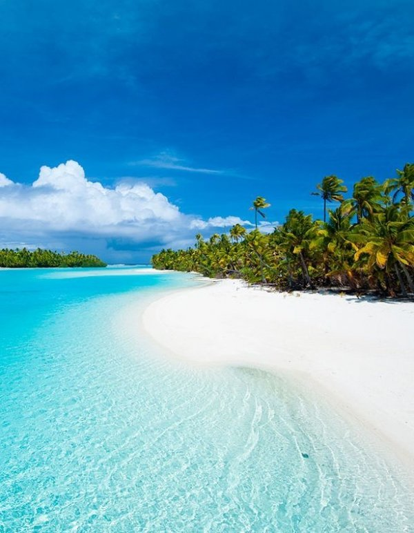 White Sandy Beaches