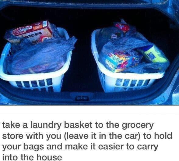 If You Struggle Carrying All Your Groceries - Struggle NO MORE