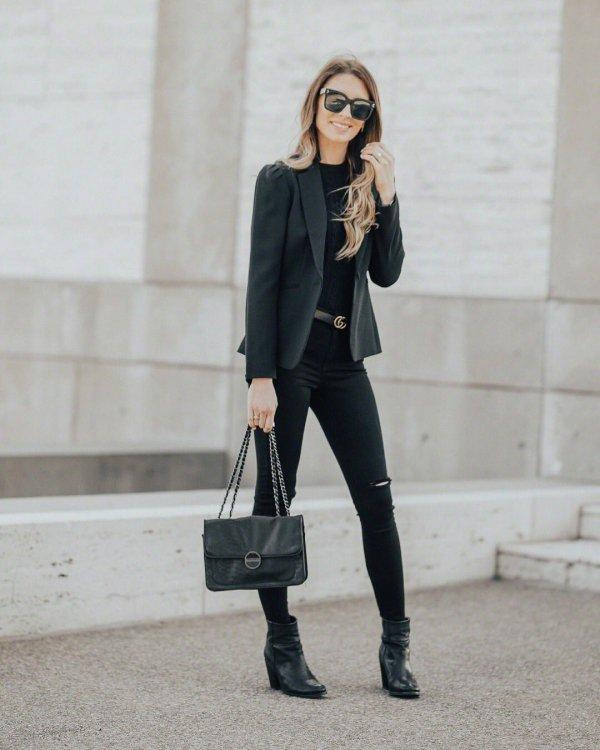 clothing, blazer, shoulder, jeans, fashion model,