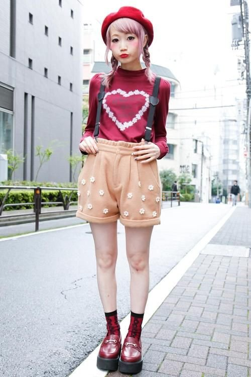 Fascinating Street Style Photos From Japan Fashion