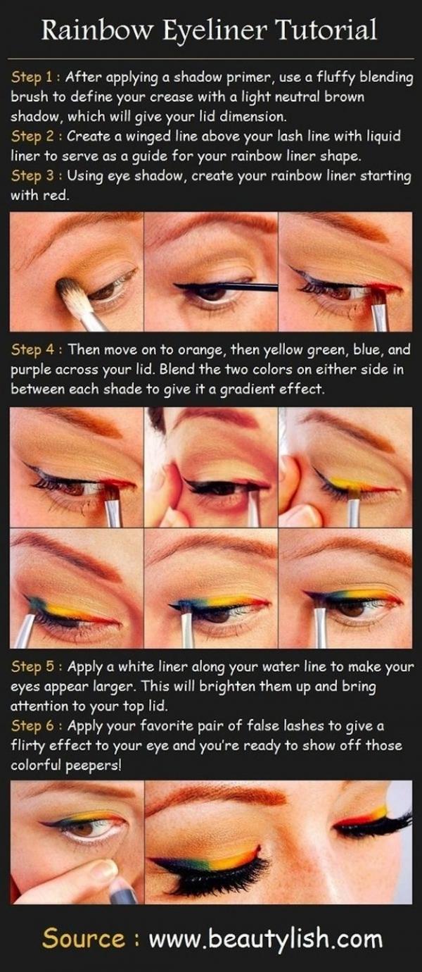 Rainbow Eyeliner