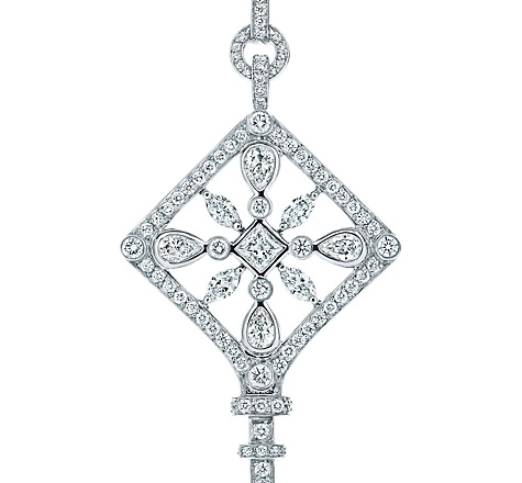 Tiffany Keys Kaleidoscope Key Pendant