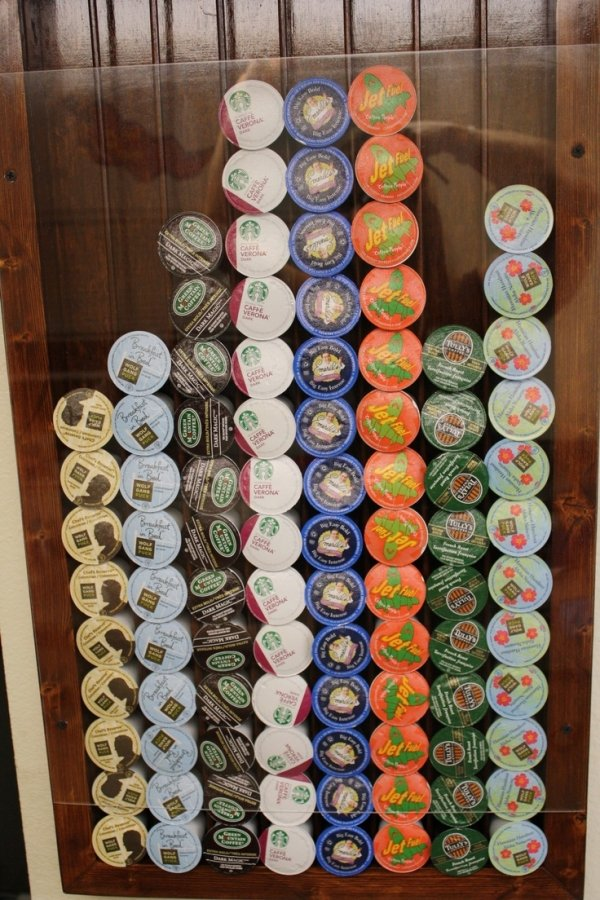 Homemade K Cup Holder 17 Really Cool K Cup Things You
