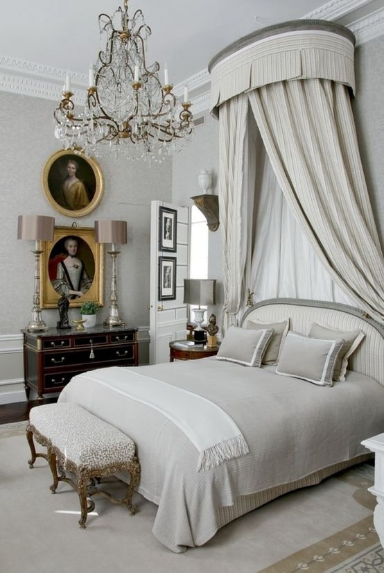 Elegant French Inspired Bedroom Oh La La French Style