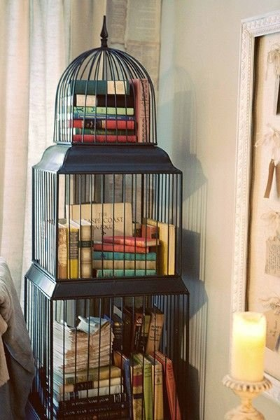 Display Them in an Old Bird Cage