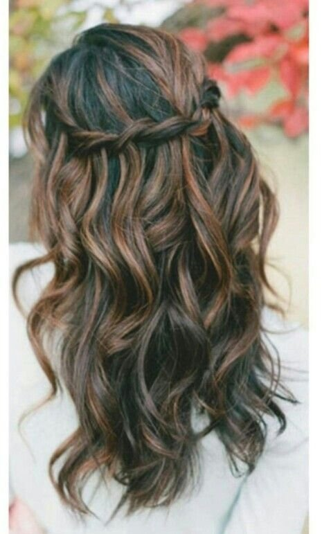 Fine 4 Waterfall Braid 7 Easy Hairstyles For The Busy Bridesmaid Hairstyles For Men Maxibearus