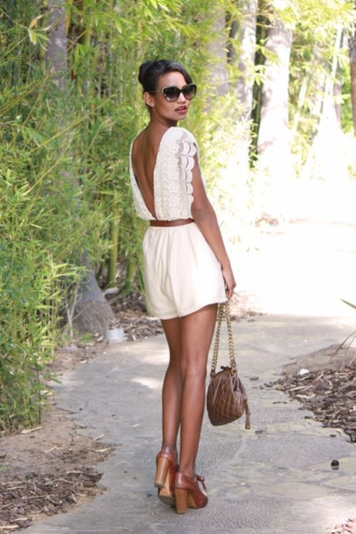 Wear Backless Dresses and Shirts