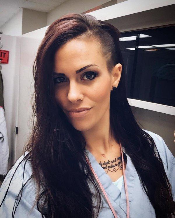 Her Hair Tattoo