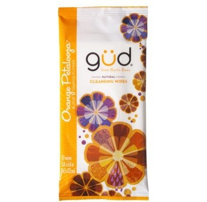GUD from Burt's Bees Orange Petalooza Facial Cleansing Wipes