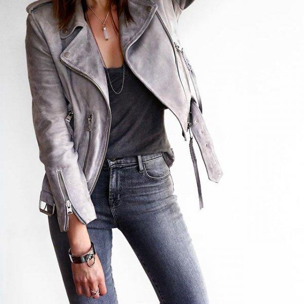 clothing, jacket, leather, leather jacket, outerwear,