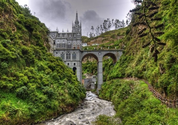 Las lajas sanctuary colombia 30 awesome places to visit for Awesome places to vacation