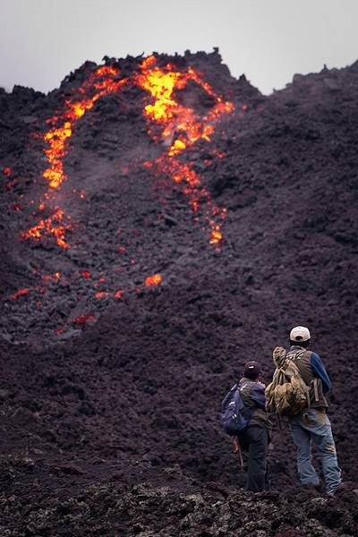 Volcano Trekking into the Centre of the Earth