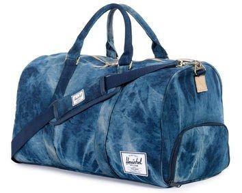Novel Duffle Bag - Acid Wash Denim