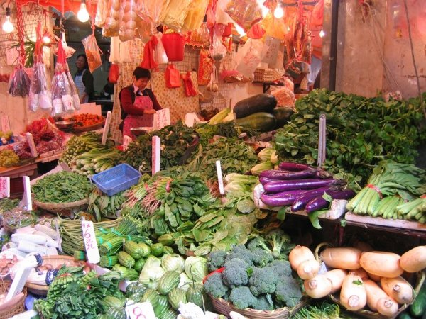 Affordable Goods (Especially Vegetables!)