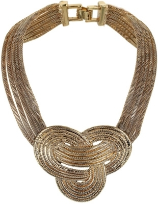 Topshop Knott Collar Necklace