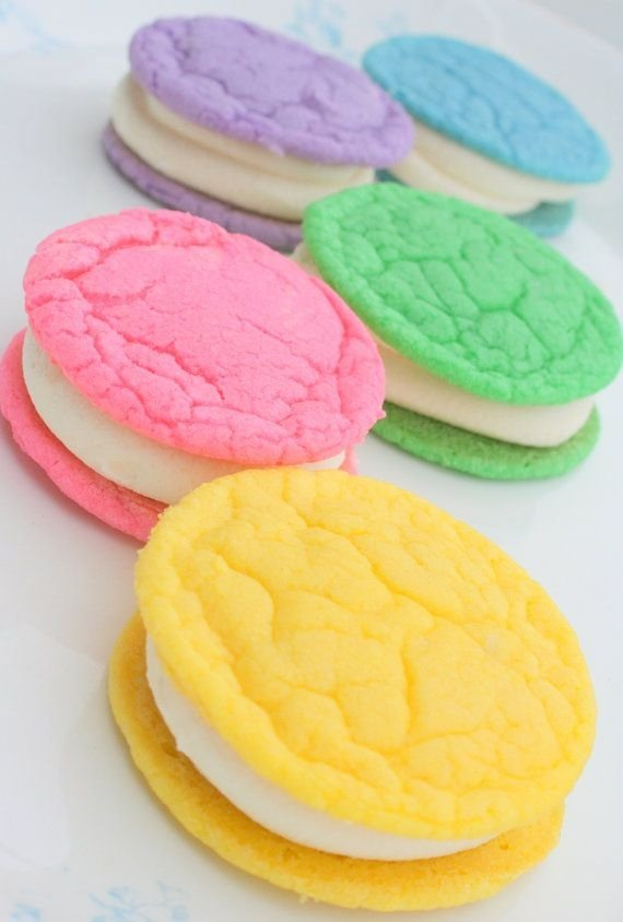 Sugar Cookies with Buttercream Frosting - 50 Delicious Desserts…