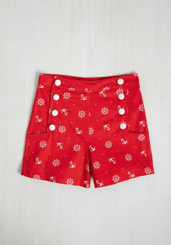 clothing, red, trunks, pattern, polka dot,