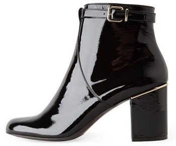 5. Robert Clergerie Hut Patent Ankle Boot - 7 Stylish Patent Boots…