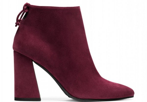footwear, leather, maroon, high heeled footwear, boot,