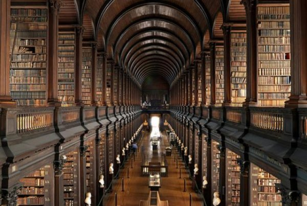 The Trinity College Library, Dublin, Ireland