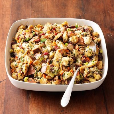 Herbed Chestnut Bread Stuffing - 30 Special Stuffing Recipes for…