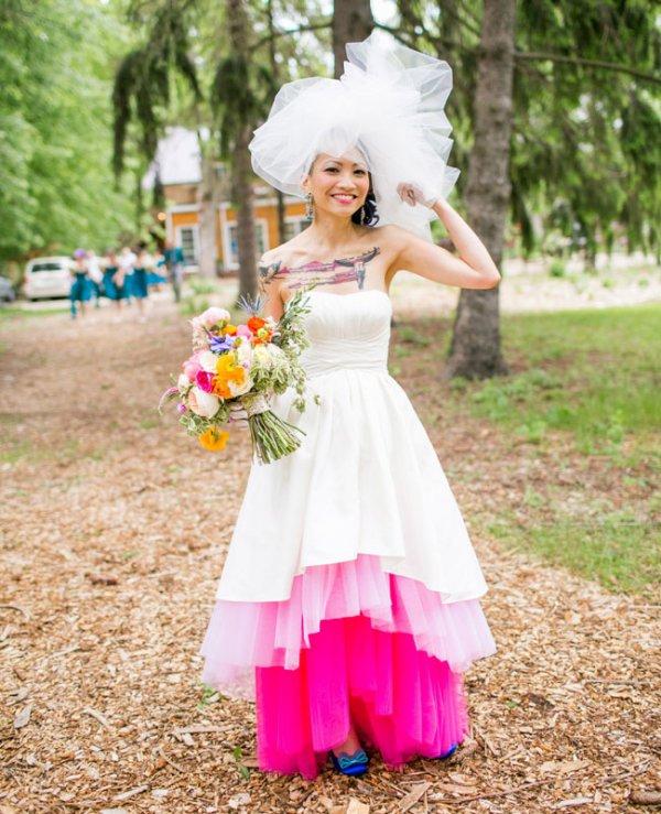 """Say """"I Do"""" To These 7 Gorgeous Non-White Wedding Dresses"""